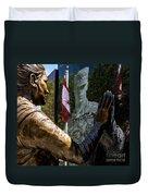 Utah Freedom Memorial Duvet Cover
