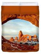 Utah Golden Arches Duvet Cover