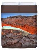 Utah Morning Pastels Duvet Cover