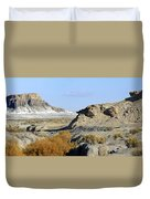 Utah Outback 42 Panoramic Duvet Cover by Mike McGlothlen