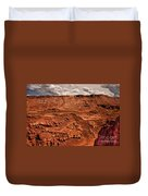 Utah Rocks Duvet Cover