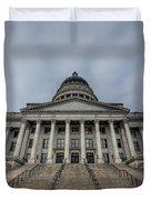 Utah State Capitol Building Duvet Cover