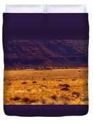 Utah Winter Sun Duvet Cover