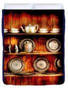 Utensils - In The Cupboard Duvet Cover