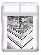 V Shape 2 Palm Springs Duvet Cover