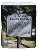 Va-k266 Craney Island Duvet Cover