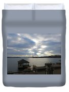 Va March Sunset Duvet Cover