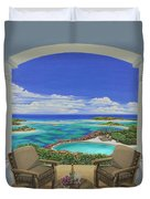 Vacation View Duvet Cover