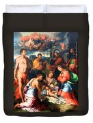Vaga's The Nativity Duvet Cover