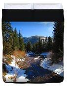 Vail Colorado Duvet Cover