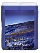 Vail Sunrise Duvet Cover