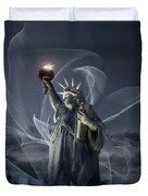 Light Of Liberty Duvet Cover