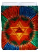Vajrayogini Mandala Duvet Cover