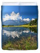 Val Di Sole - Covel Lake Duvet Cover
