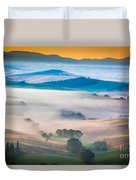 Val D'orcia Enchantment Duvet Cover by Inge Johnsson