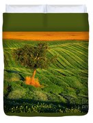 Val D'orcia Tree Duvet Cover
