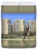 Valencia Spain Duvet Cover