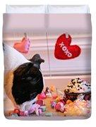 Valentine Be Mine Duvet Cover