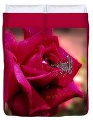 Valentine Dripping Wet Duvet Cover