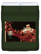Valentine Window Display Duvet Cover