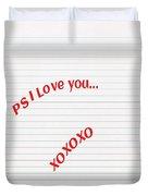 Valentines Day Duvet Cover