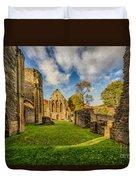 Valle Crucis Abbey Ruins Duvet Cover