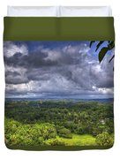 Valley At Chocolate Hills Duvet Cover