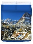 Valley Below Grinnell Duvet Cover