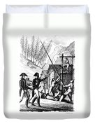 Valley Forge, 1777 Duvet Cover