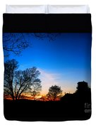 Valley Forge Evening  Duvet Cover
