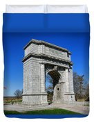 Valley Forge National Memorial Arch Duvet Cover