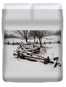 Valley Forge Snow Duvet Cover