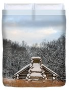 Valley Forge Winter 1 Duvet Cover