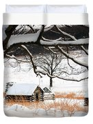 Valley Forge Winter 14 Duvet Cover