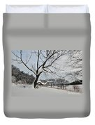 Valley Forge Winter 9 Duvet Cover