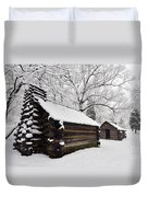 Valley Forge Winter 9887 Duvet Cover