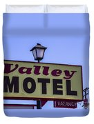 Valley Motel Duvet Cover