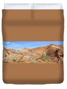 Valley Of Fire - Fire Wave Panorama Duvet Cover