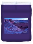 Valley Of Fire - Fire Wave 2 - Nevada Duvet Cover