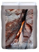 Valley Of Fire Mouse's Tank Canyon Duvet Cover
