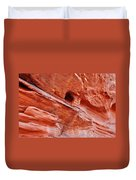 Valley Of Fire Mouse's Tank Sandstone Wall Duvet Cover