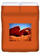 Valley Of Fire Nevada Desert Duvet Cover