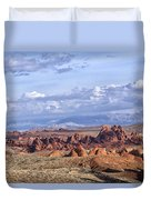 Valley Of Fire Vista Duvet Cover