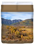 Valley Of Gold Duvet Cover