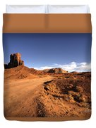 Valley Of Monuments  Duvet Cover