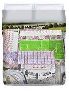 Valley Parade Stadia Art - Bradford City Fc Duvet Cover