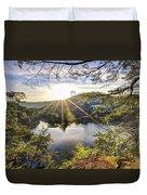 Valley Sunrise Duvet Cover