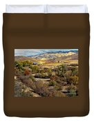 Valley View Duvet Cover by Robert Bales