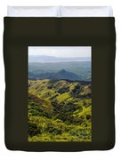 Valleys And Mountains Duvet Cover