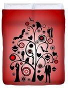 Vampire Art Duvet Cover
